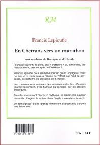 4eme couverture En Chemins vers un marathon aux couleurs de Bretagne et d'Irlande2